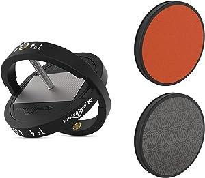 Tools4Boards ORB 8 Way All-in-1 Ski & Snowboard Edger KIT, Black, 2