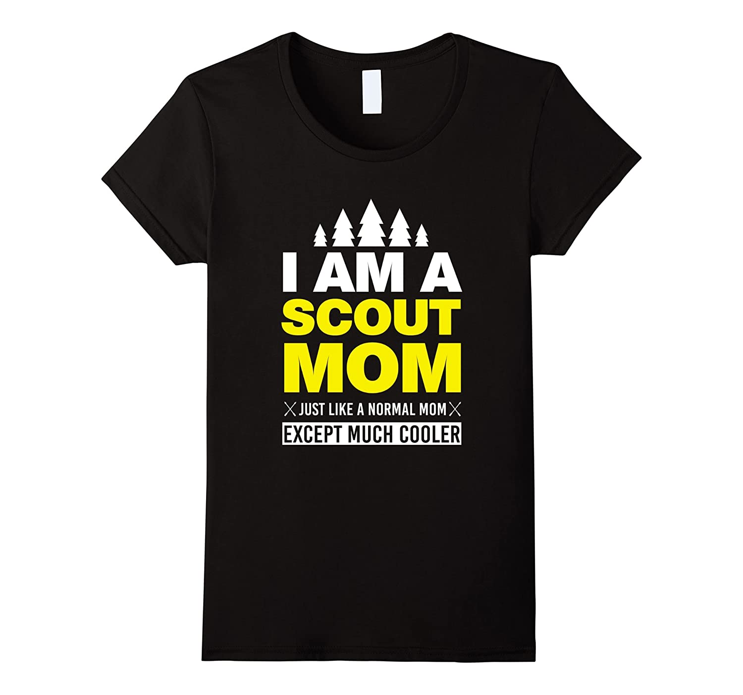 Womens Mom Scout Camping T SHirt-ANZ
