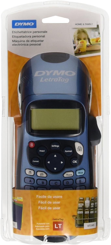 Dymo LetraTag LT-100H - Impresora de etiquetas, color azul (versión española)