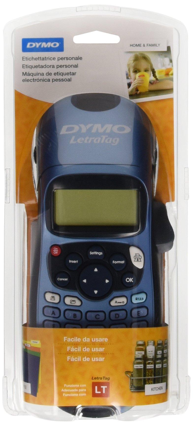 Dymo LetraTag LT-100H - Impresora de etiquetas, color azul (versión española) product image