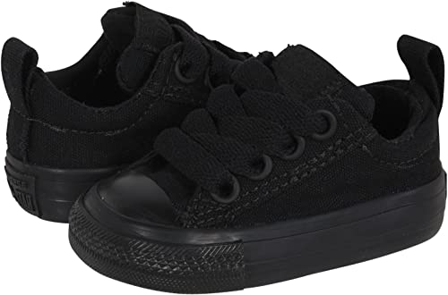 Infant//Toddler Converse Kids Chuck Taylor All Star  Street Ox ALL BLACK