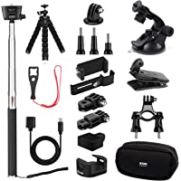 DJI Osmo Pocket Accessories by KIWI design, Expansion Kit | Mounts | Backpack Clip | Tripod | Phone Holder | WiFi Tripod Adapter