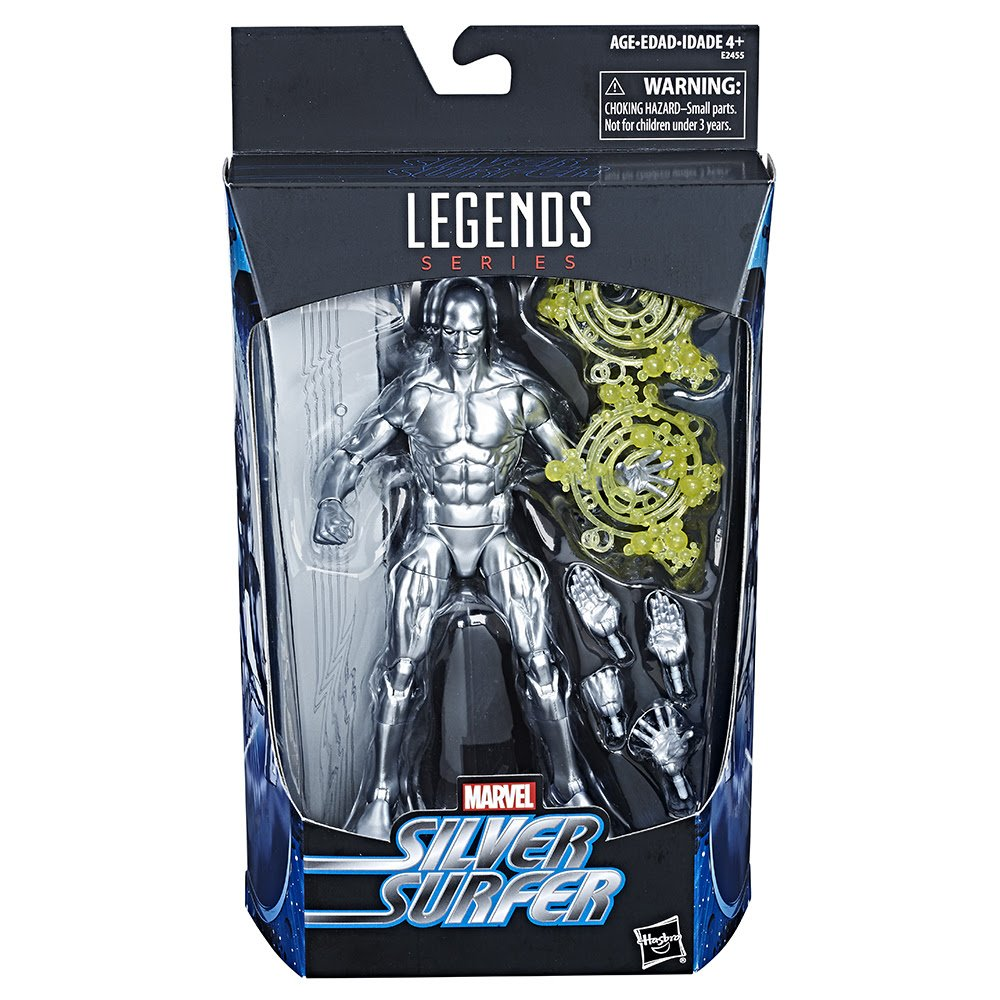 "Marvel Legends Silver Surfer Exclusive 6"" Action Figure Hasbro"