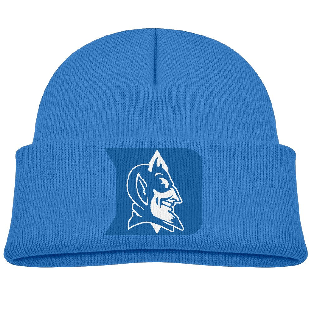 Amazon.com  Duke Blue Devils Kids Beanie Skull Hat Knitted Cap RoyalBlue   Clothing 1a32bbb18ba