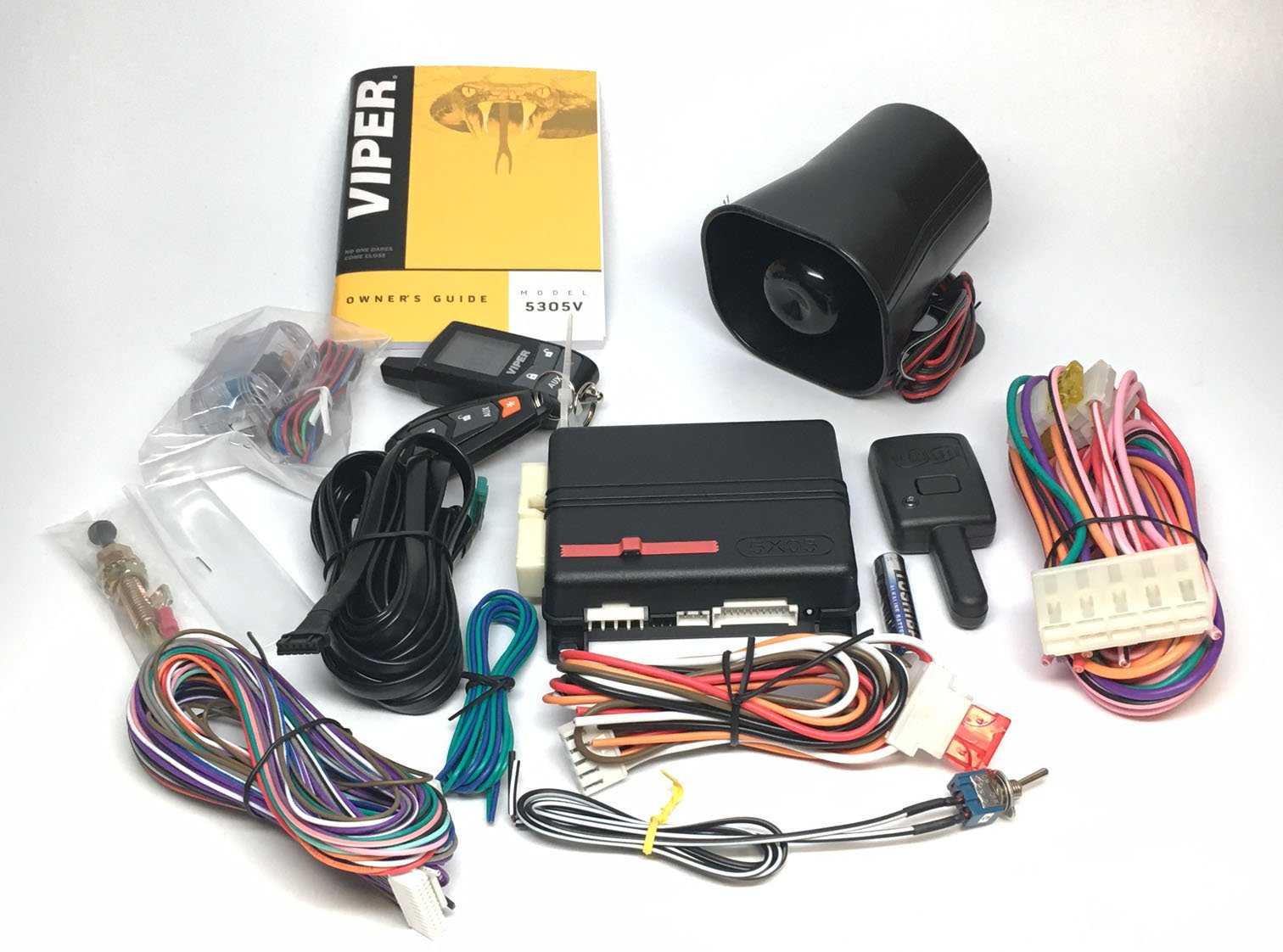 Viper 5305V 2-Way LCD Security Alarm & Remote Car Starter & Directed DB3 XPressKit DEI Databus ALL Combo Bypass / Door Lock Interface Bundle Package by Click & ADD (Image #4)