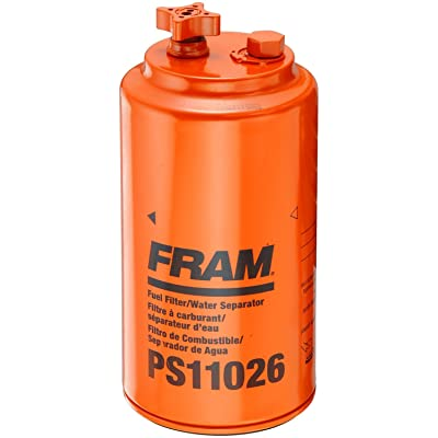 FRAM PS11026 Heavy Duty Spin-On Fuel/Water Separator Filter: Automotive