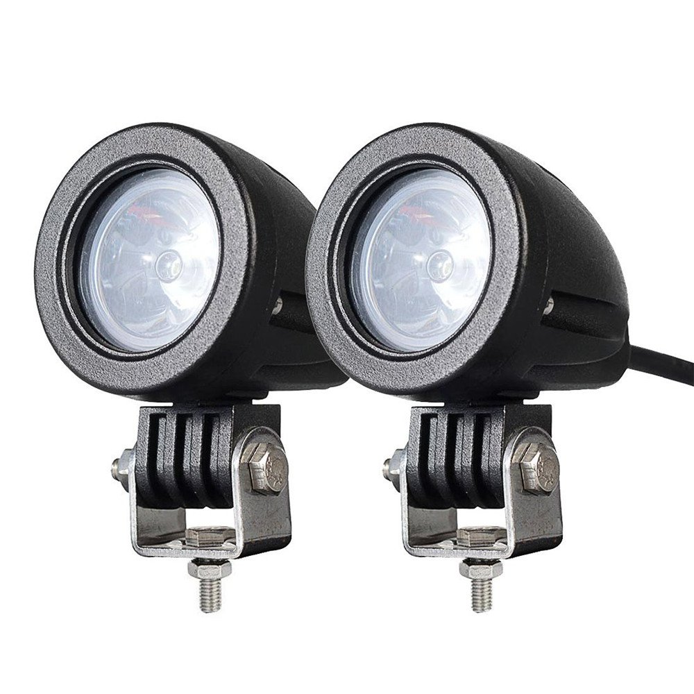 """1pc 2/"""" Inch 10W Spot CREE LED Lights Offroad Round Work Lamp For Truck 4WD ATV"""