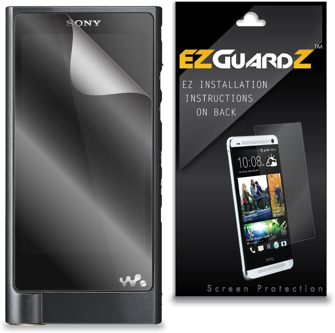 EZGuardZ Screen Protector for Sony Walkman NW-ZX2 6-Pack Ultra Clear