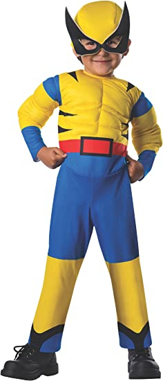 Rubie`s Costume Baby Boy`s Marvel Classic Costume Lil Wolverine Multi Toddler