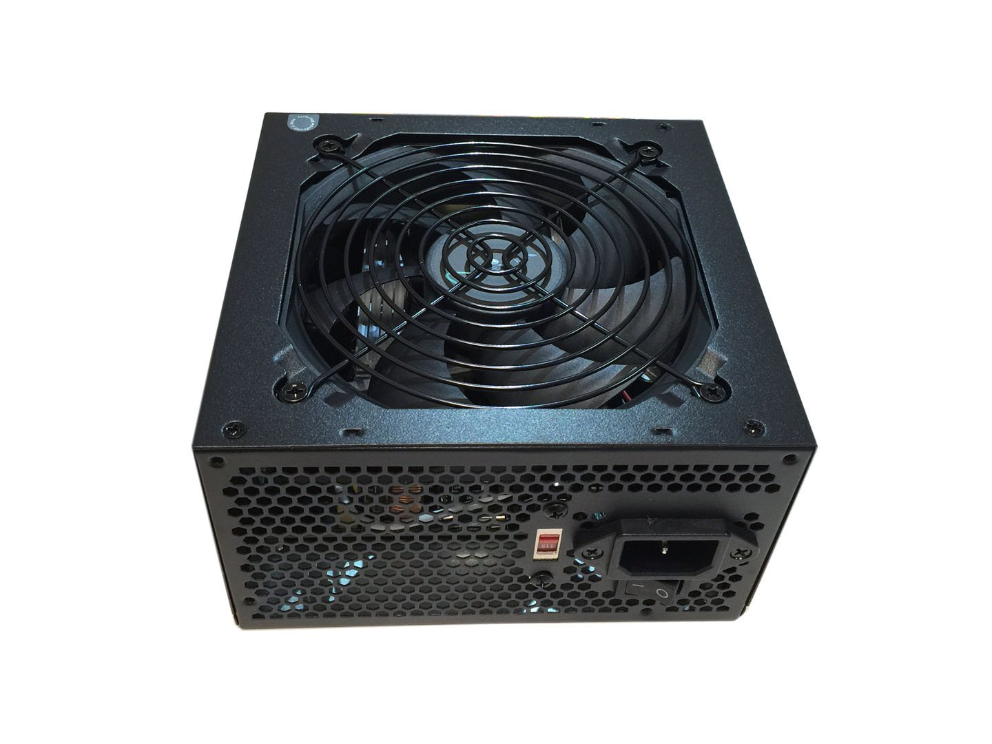 Apevia ATX-AS450W Astro 450W ATX Power Supply with Auto-Thermally Controlled 120mm Fan, 115/230V Switch, All Protections