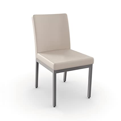Amisco Industries Penny Metal Chair, Magnetite