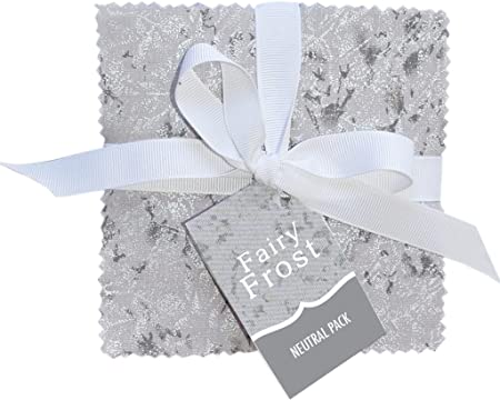 Michael Miller FAIRY FROST NEUTRAL PACK Precut 5-inch Charm Pack ...