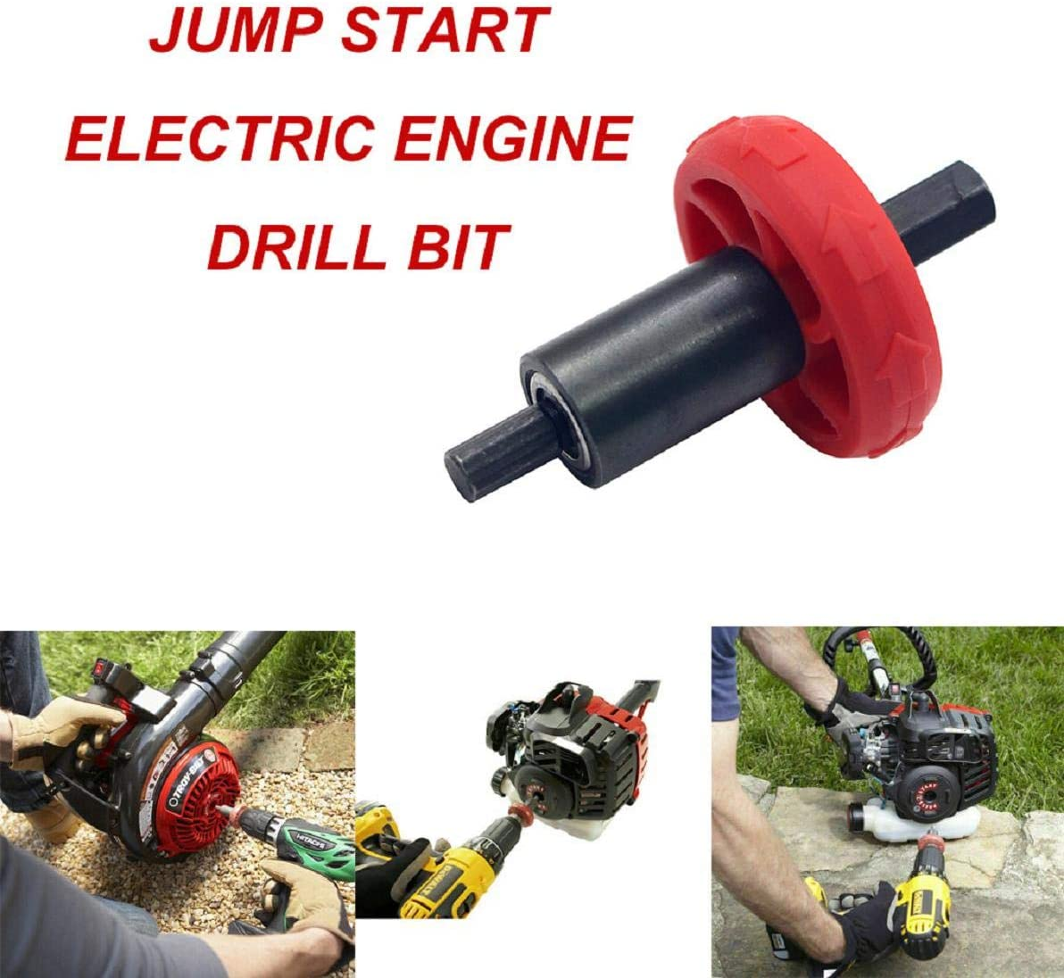 Amazon.com: Boddenly Drill Bit Jump Start for Trimmers ...
