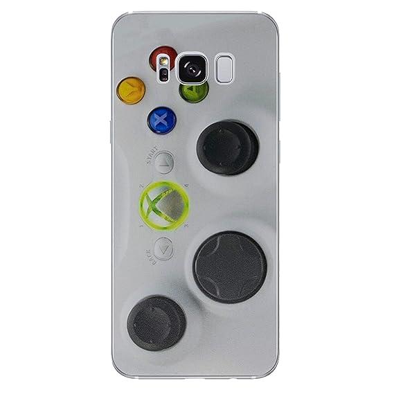 wholesale dealer 825de 2119b Amazon.com: Galaxy S8 Plus Controller Silicone Phone Case/Gel Cover ...