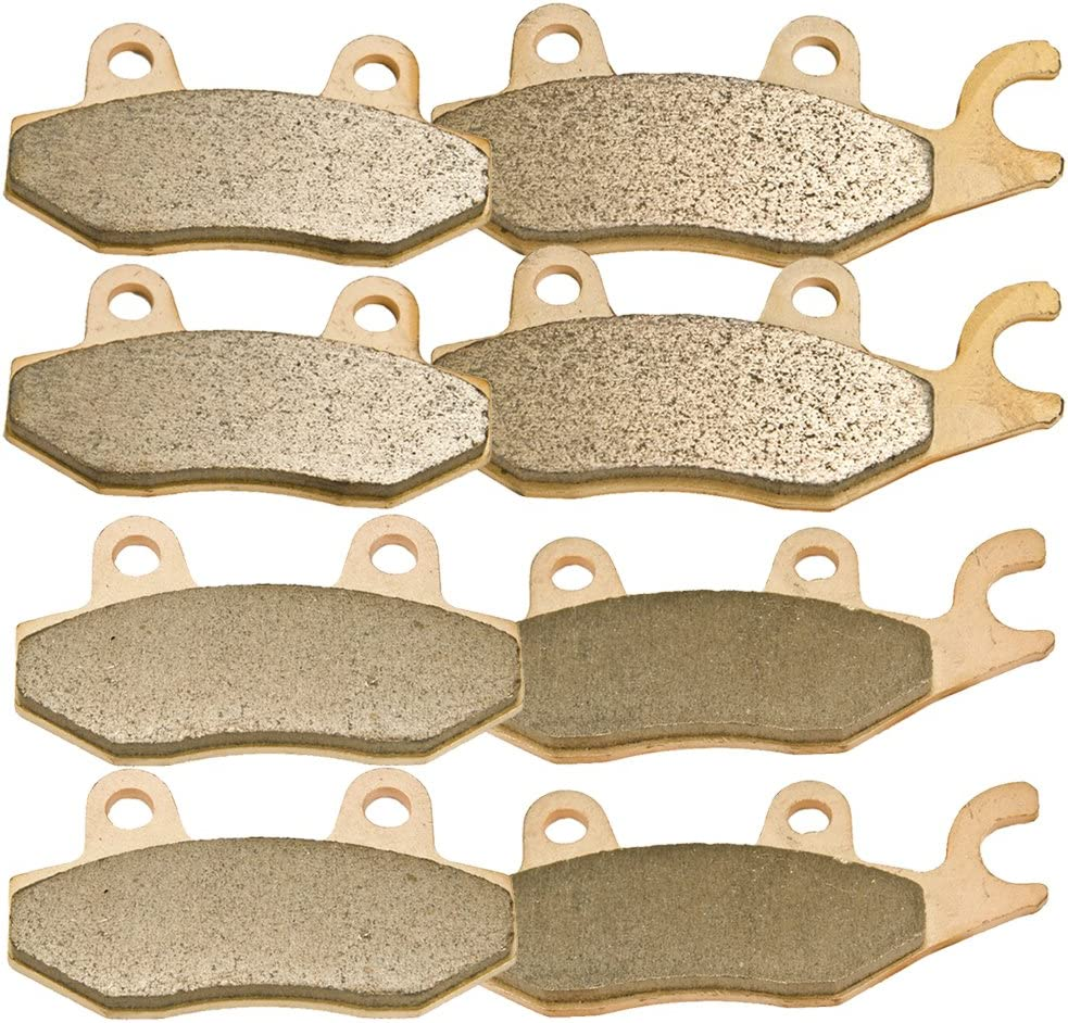 Front Rear And Middle Brake Pads for Yamaha Rhino 700 YXR700F YXR 700F 2008-2013