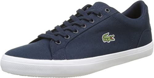 Mens Lacoste Lerond 319 Trainers Suede Lace Up Casual New