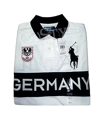 Lauren Polo Germany Blanc Big Allemagne Pony Ralph L yn0vm8NwO