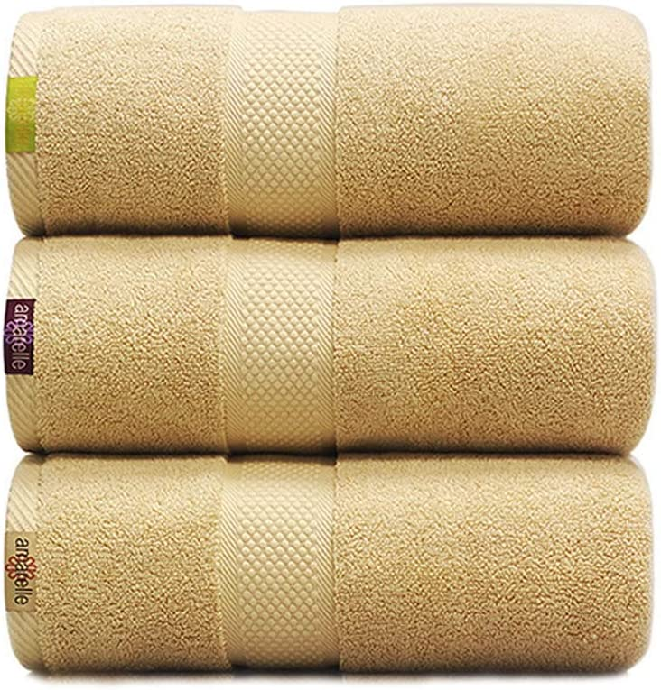 ZJPP Toallas de baño, Toalla de baño de algodón Egipcio, 31.5