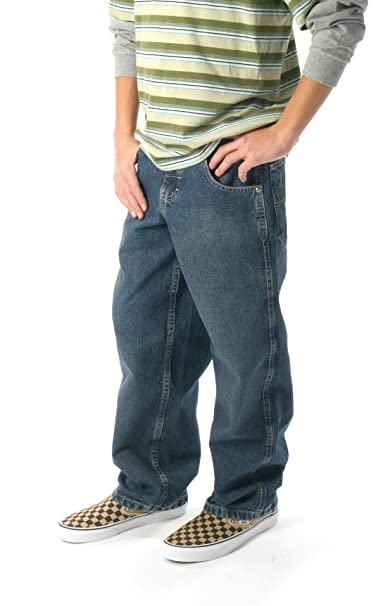 a8a4592c Amazon.com: LEE Little Boys' Loose Fit Double Knee Jeans, Medium ...