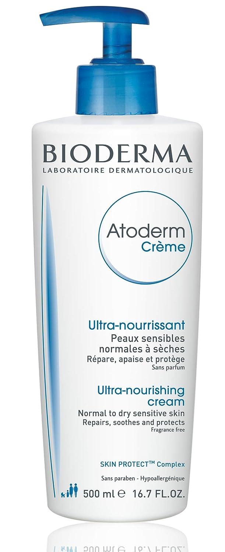 Bioderma - Atoderm - Cream - Nourishing Body Cream - for Normal to Dry Sensitive Skin - 16.7 fl.oz.: Premium Beauty