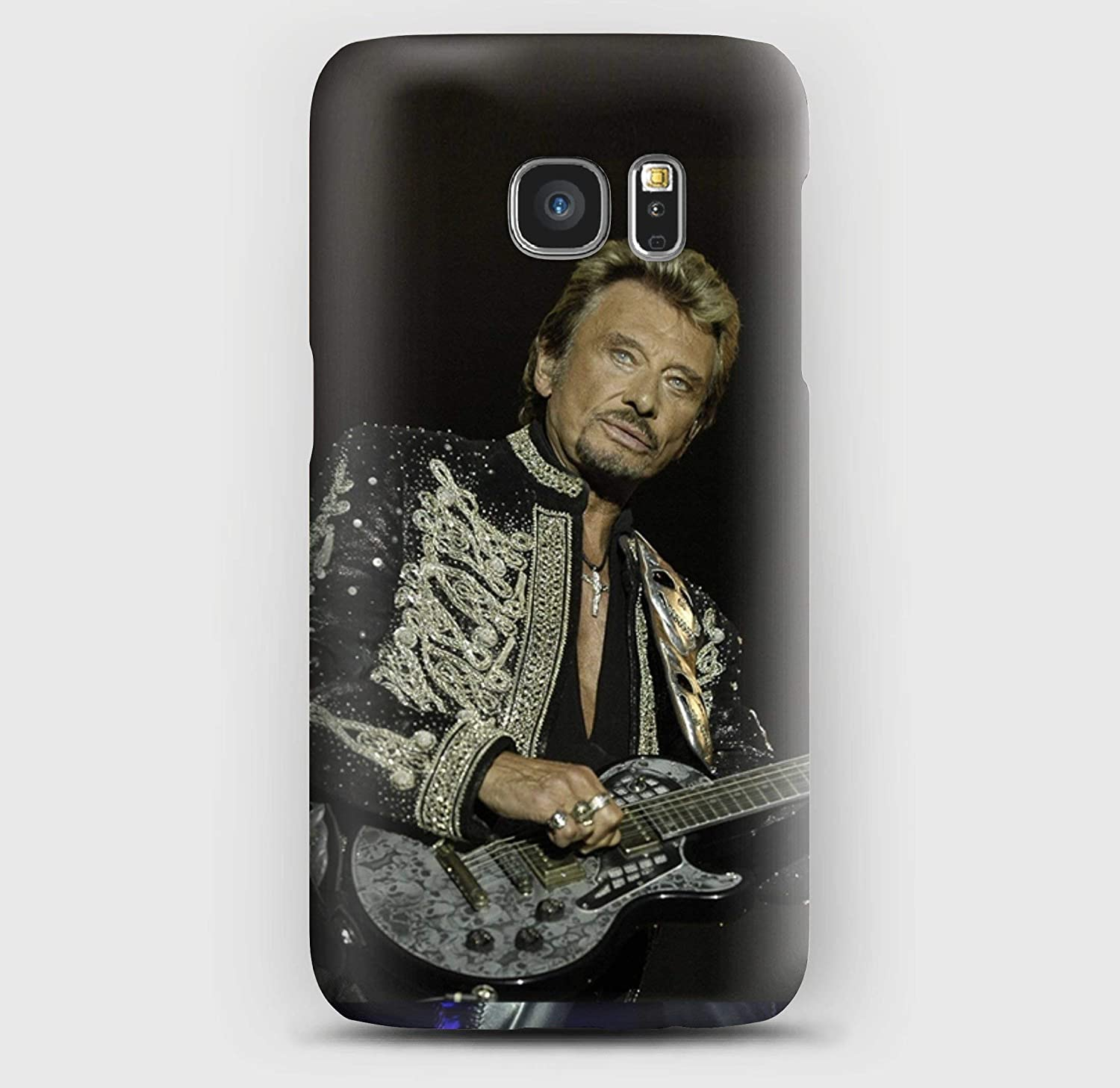 Johnny Hallyday en concert Coque Samsung S5, S6, S7, S8,S9,A3, A5, A7,A8, J3, Note 4, 5, 8,9, Grand prime,