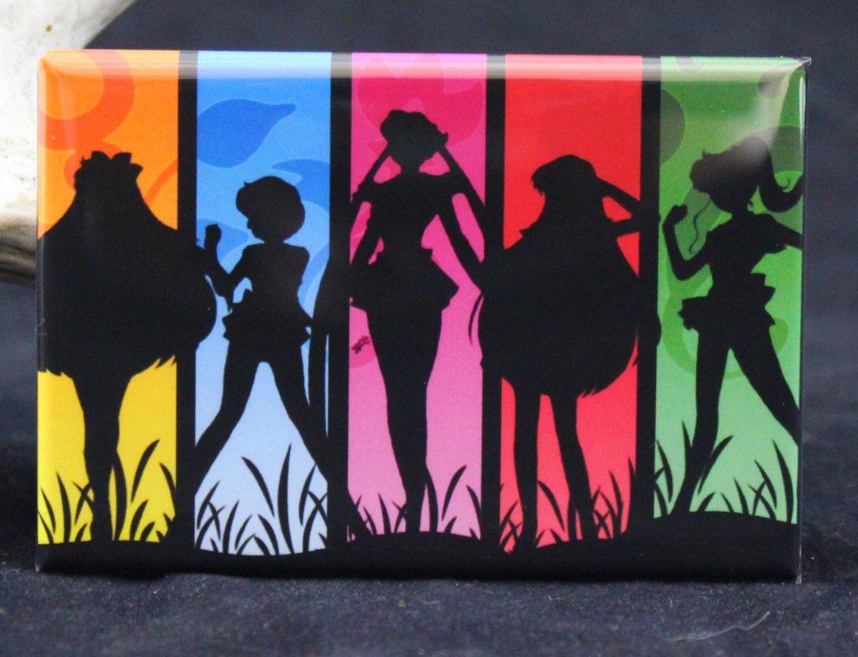 Sailor Moon Refrigerator Magnet.