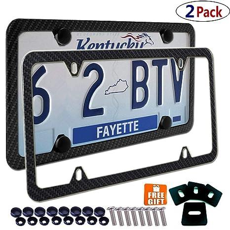 "Black License Plate Frame /""I Heart Sci Fi/"" Auto Accessory Novelty"