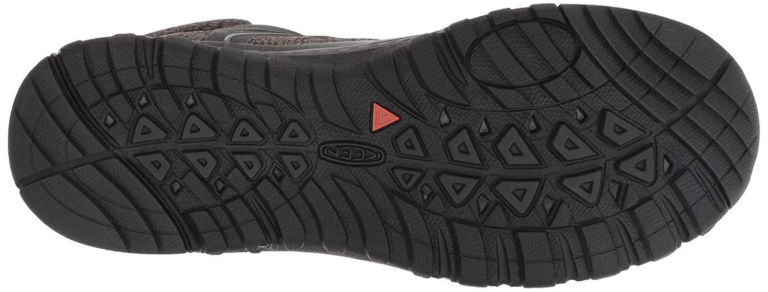 KEEN Women's Terradora Mid Waterproof Hiking Shoe B077KBQV5Z 5.5 M US|Raven/Gargoyle