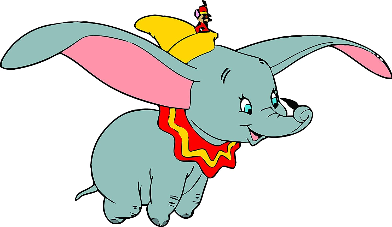 Amazon Com Dumbo Flying Elephant Disneyland Cartoon Cartoons Tv Show Character Baby Nursery Design Babies Kids Kid Vinyl Art Decor Decoration Wall Decals Decal Walls Stickers Sticker Rooms Size 15x20 Inch Home
