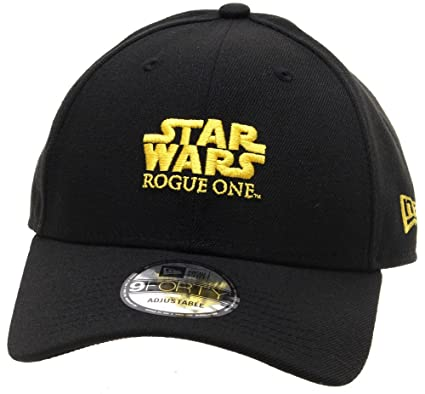 9d62a1f91b620 New Era Star Wars Rogue One 9FORTY Cap - Black: Amazon.co.uk: Clothing