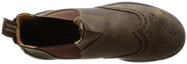 Blundstone Super 550 Series Boot B072HFZT7M 10 M AU/11 M US |Rustic Brown Brogue