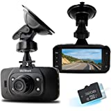 OldShark® 1080P Car Driving Recorder GS8000L Car DVR Recorder Motion Detection Loop Recording Night Vision Parking Monitor with 32GB TF Card