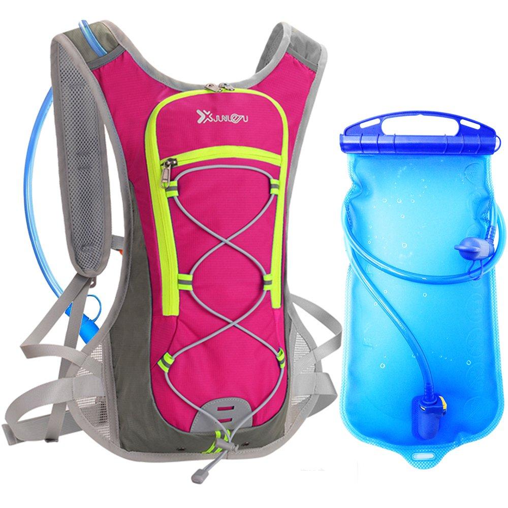 Mochila Hidratacion con L Bolsa de Agua DeFe L Pack Mochila Trail