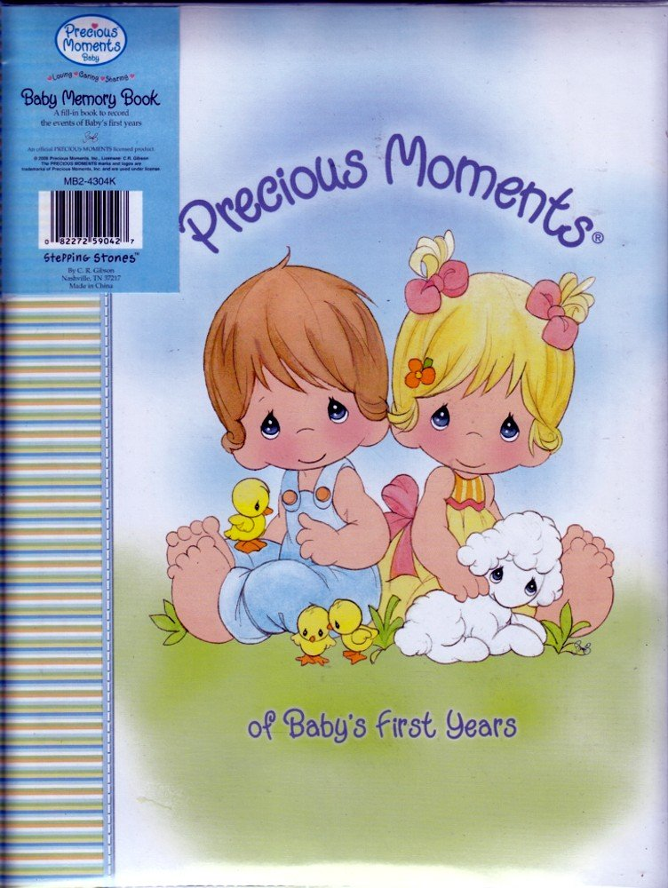 Precious Moments Baby S First Years Memory Book Stepping Stones Amazon Com Books