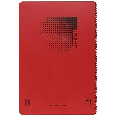 Pacsa 16467 - Bloc 90 g, polipropileno, tamaño folio, 80 hojas: Juguetes y juegos
