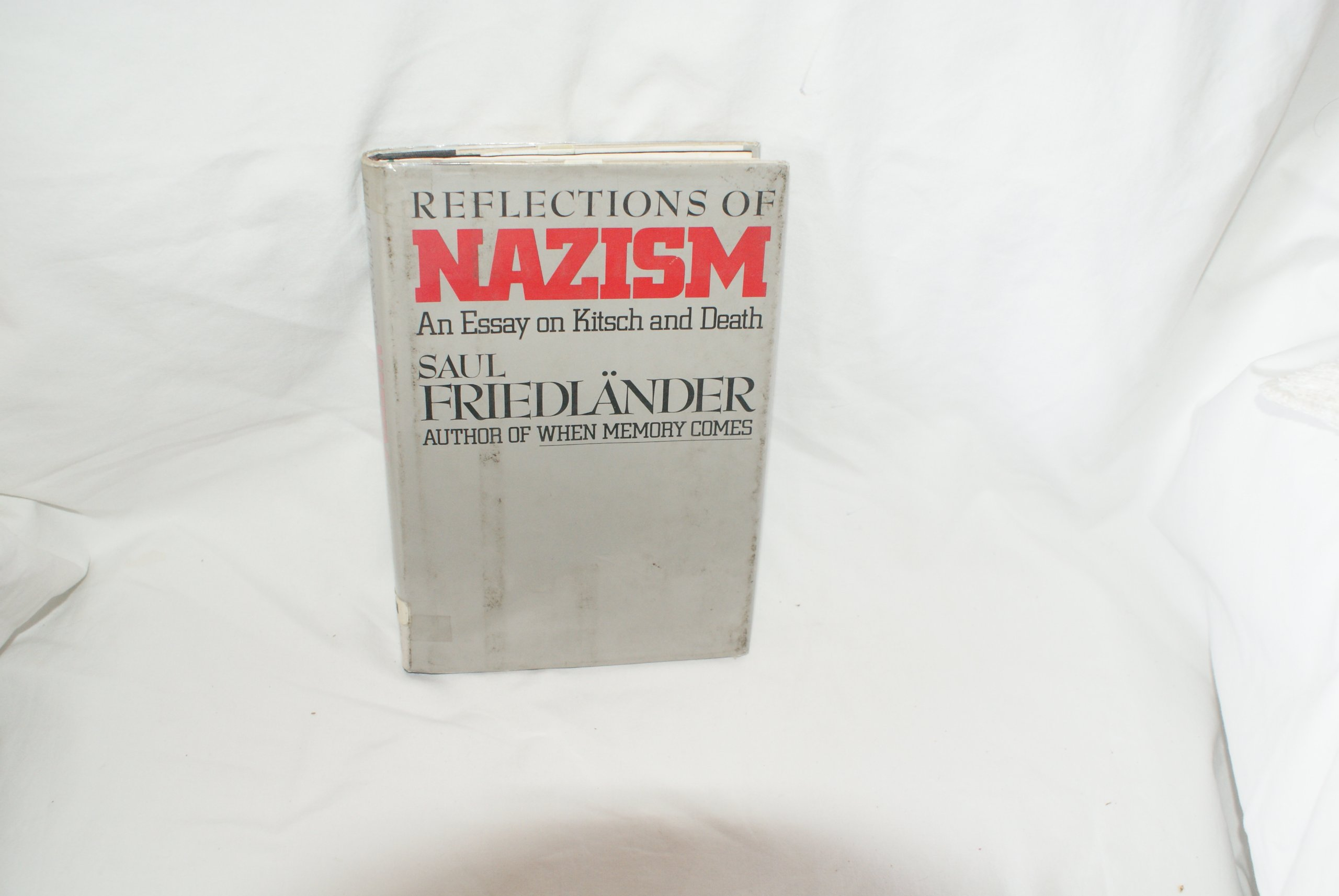 reflections of nazism an essay on kitsch and death saul  reflections of nazism an essay on kitsch and death saul friedlander 9780060150976 com books