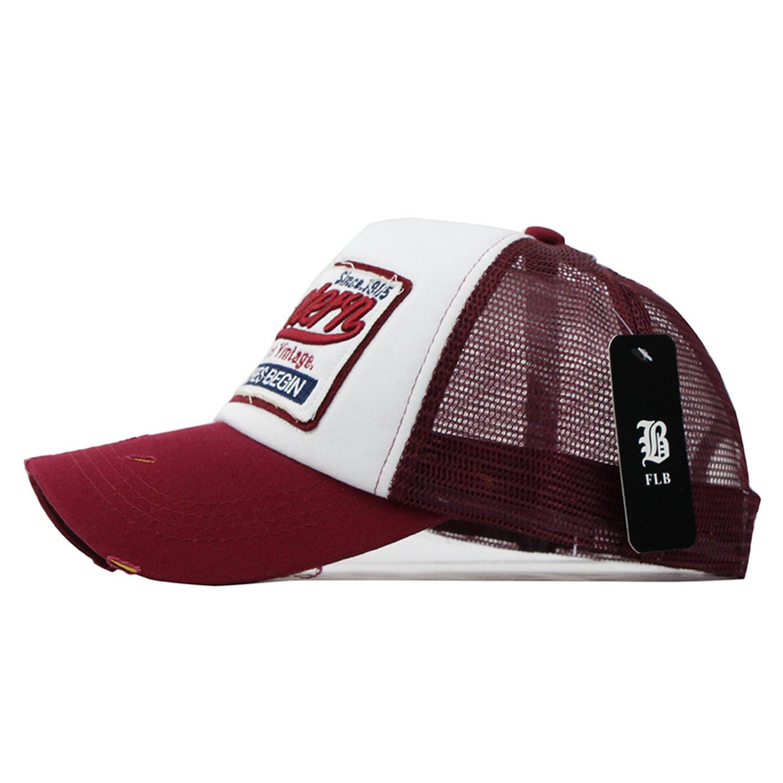 Wilbur Gold Summer Baseball Cap Embroidery Mesh Hats for Men Women Gorras Hombre Hats Casual Hip Hop Caps Dad Casquette