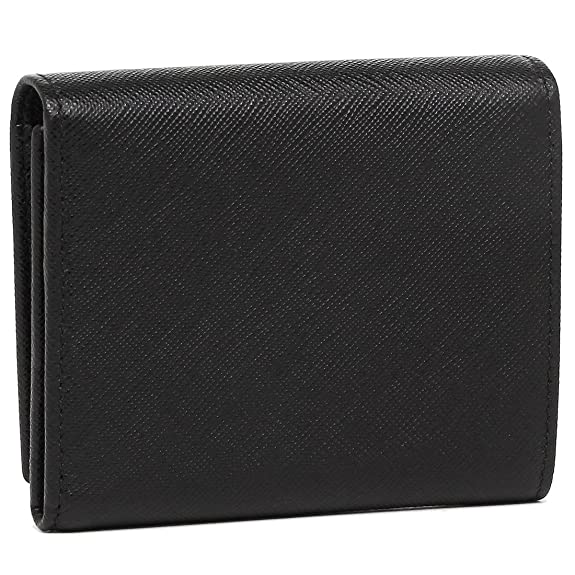 5b08d33e5f71 Amazon   [プラダ] 折財布 レディース PRADA 1MH176 QHH 002 ブラック [並行輸入品]   PRADA(プラダ)   財布