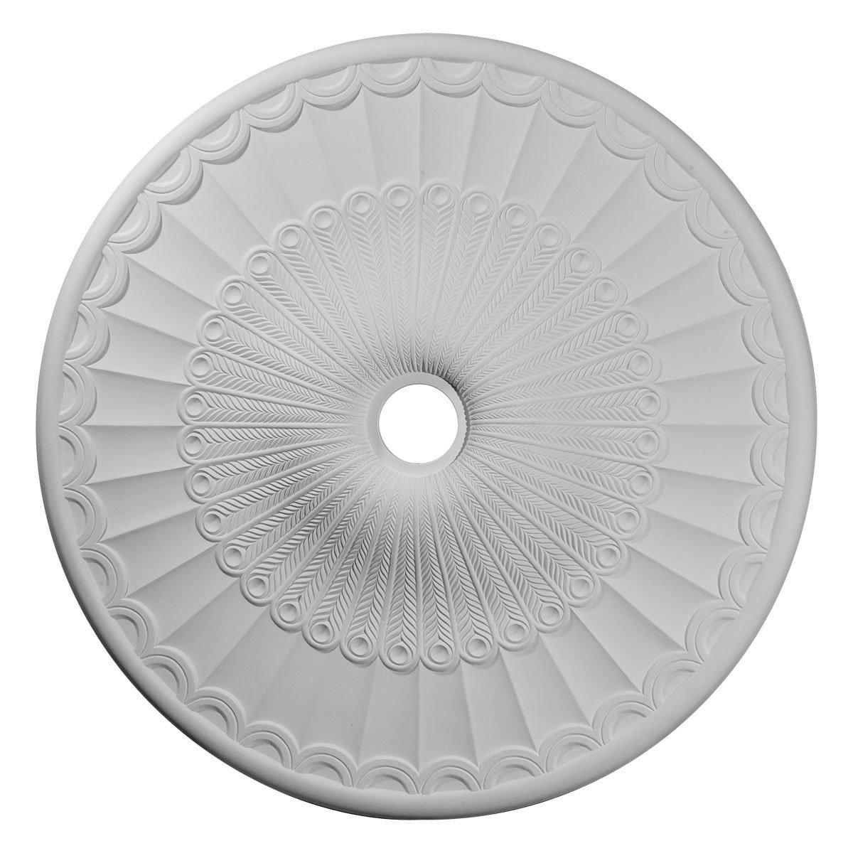 Ekena Millwork CM36GL 36 5/8-Inch OD x 3 5/8-Inch ID x 2 3/8-Inch P Galveston Ceiling Medallion by Ekena Millwork