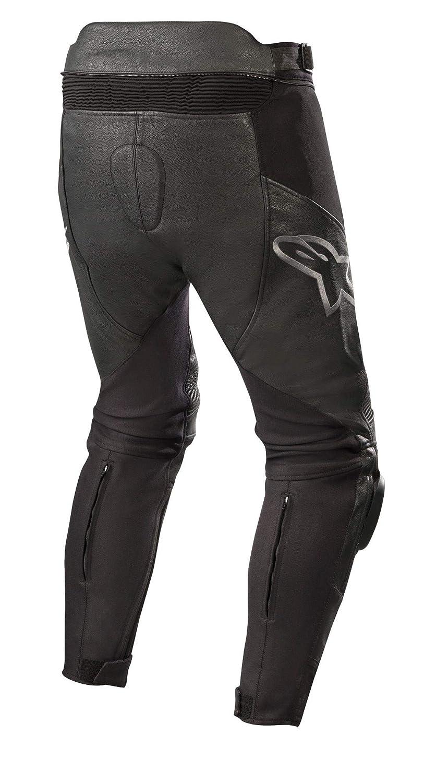 Black//White 54 Motorcycle jeans Alpinestars Sp X Pants Black White