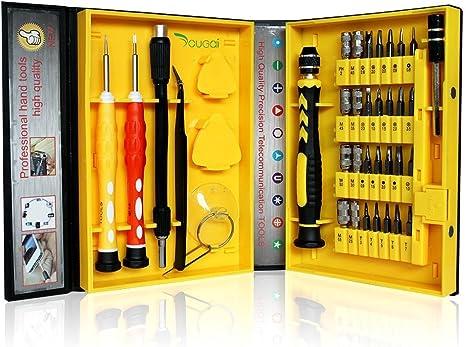 yougai 38-Piece precisión ordenador Kit de herramientas de ...