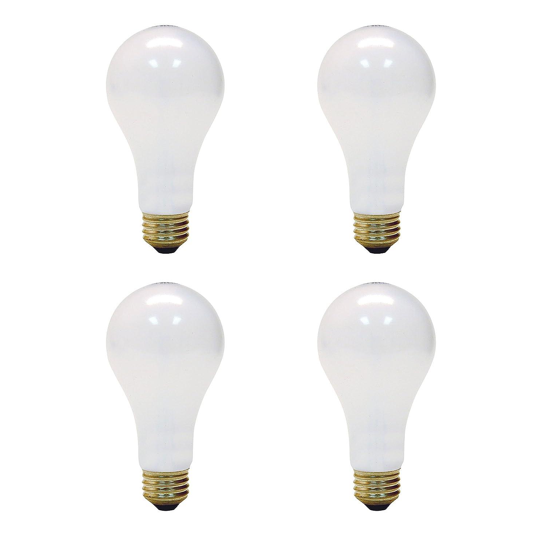 GE Lighting 50/100/150-Watt, 3-Way Light Bulb, Long Life, Soft White, 4-Pack
