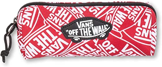 Vans OTW VN0A3HMQTTM - Estuche para lápices, color rojo y blanco: Amazon.es: Hogar