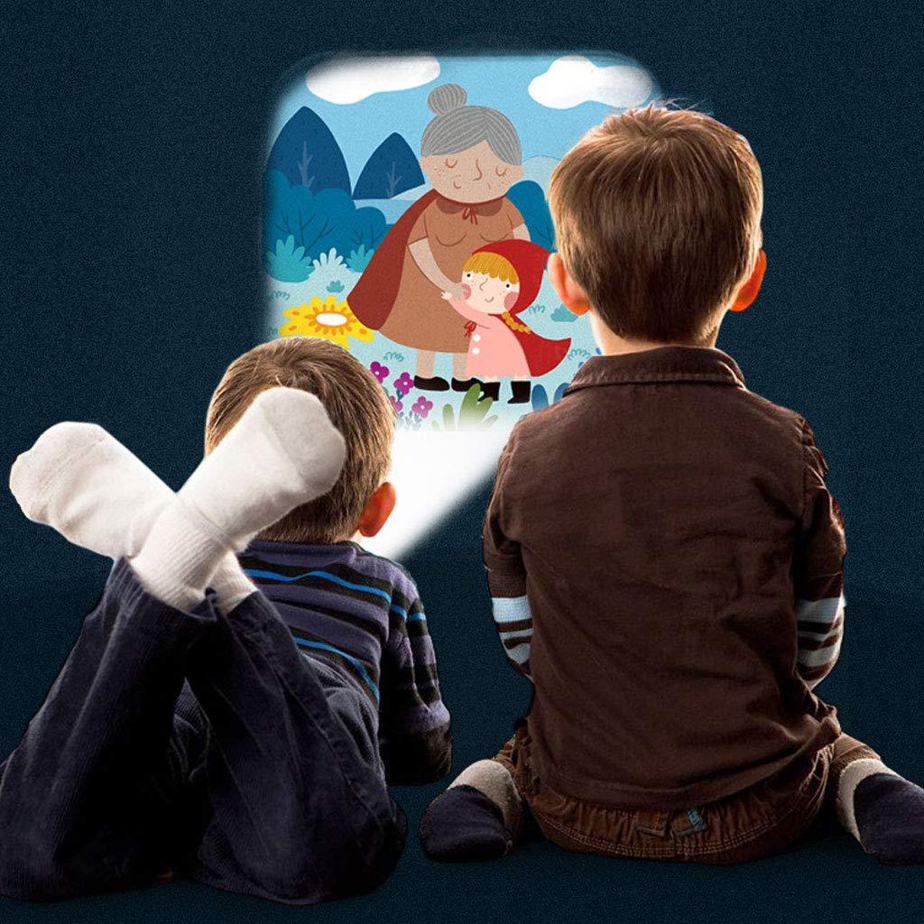 Vuev Mideer Mini Proyector Antorcha Juguetes educativos de luz para Dormir Cuentos Realizar Set Regalo Infantil
