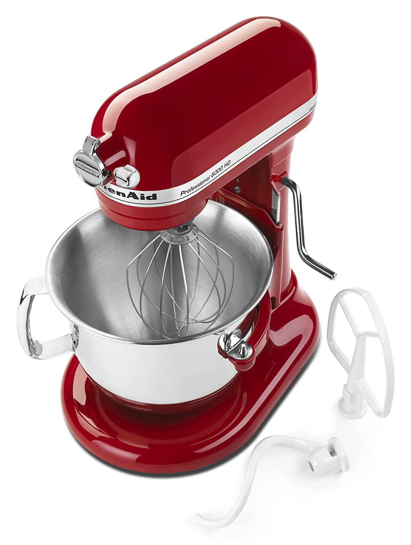 Amazon.com: KitchenAid Professional 6000 HD KSM6573CER Stand Mixer ...