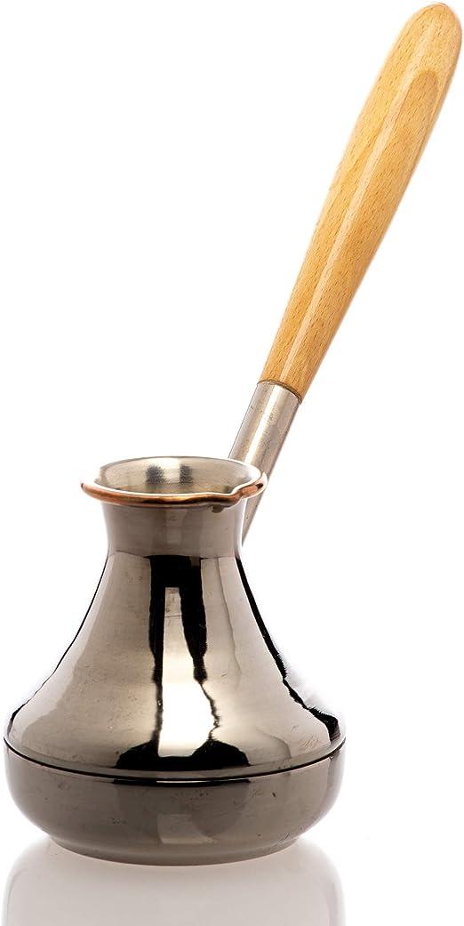 Una Cafetera De Cobre Cezve Ibrik Cafetera Gracia Volumen De 220ml ...