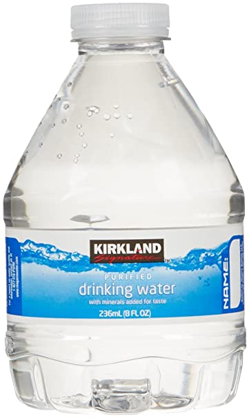 Kirkland Signature Premium Drinking Water - 8 oz - 70 ct: Amazon com