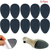 LOTEC Anti Slip Pad Ground Grip Under Soles Stick Non-slip Rubber Sole Protectors Self-Adhesive Shoes Pads Mats, 10 Pairs