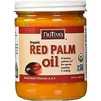 Nutiva Organic Red Palm Oil, 0.4 Liter