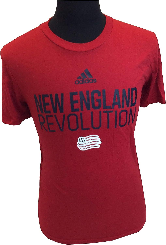 adidas New England Revolution Go-to Performance tee Camiseta de Manga Corta para Hombre: Amazon.es: Deportes y aire libre